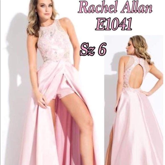 Rachel Allan Dresses Dress Romper Jumpsuit 6 Prom Pageant Poshmark
